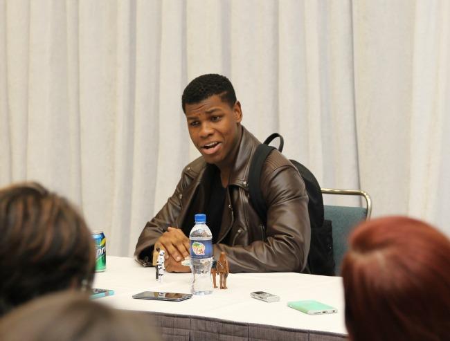 John Boyega interview the force awakens