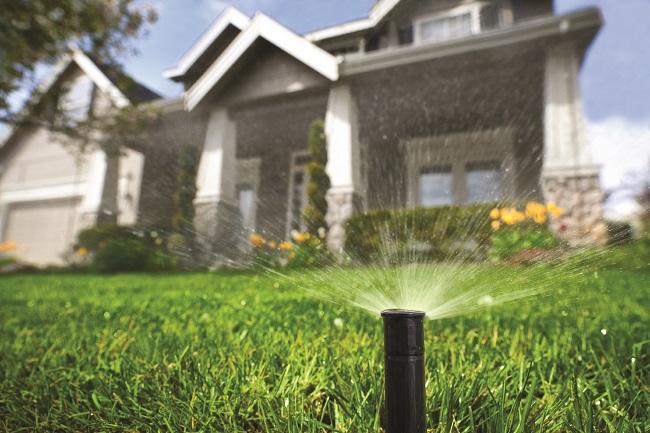 Lawn maintenance sprinklers