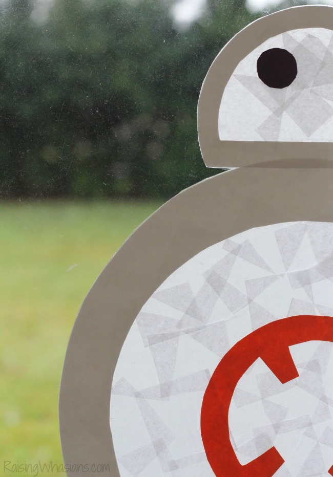 Star wars BB-8 kids craft