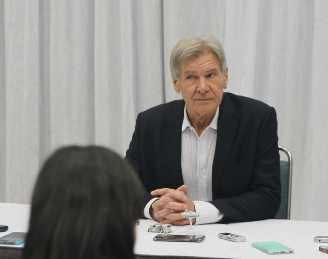Star wars interview harrison ford