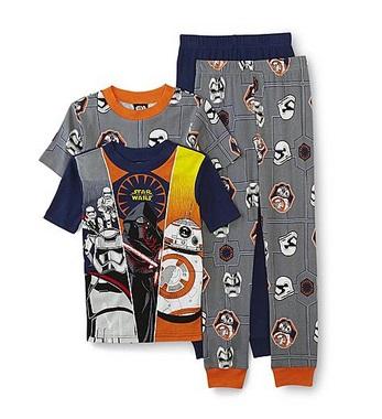 Star wars pajamas deal