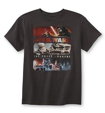 Star wars tee deal kmart