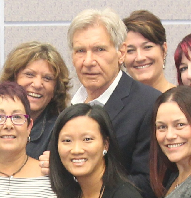 #StarWarsevent Harrison ford