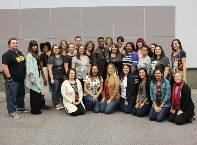 #StarWarsEvent John Boyega interview