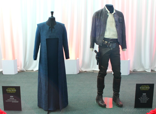 The force awakens costumes press event