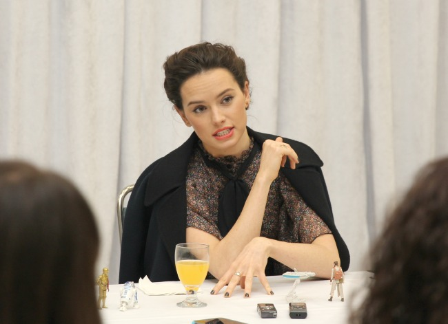 The force awakens interview with Daisy ridley