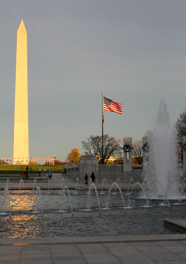 Washington monument for families