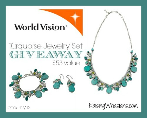 World vision turquoise jewelry giveaway