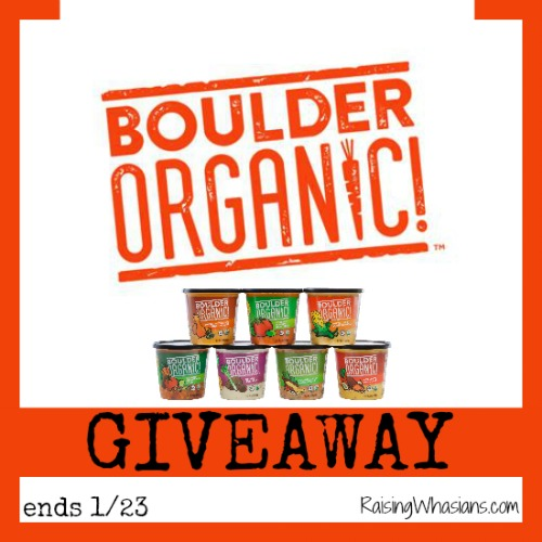 Boulder organic soup giveaway
