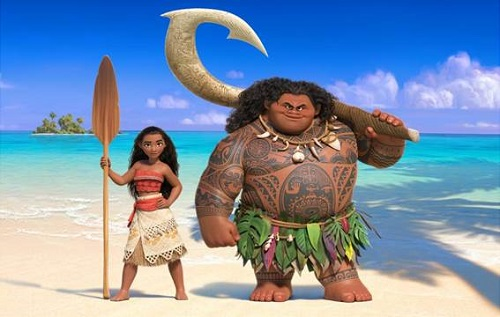 Disney Moana movie details 2016
