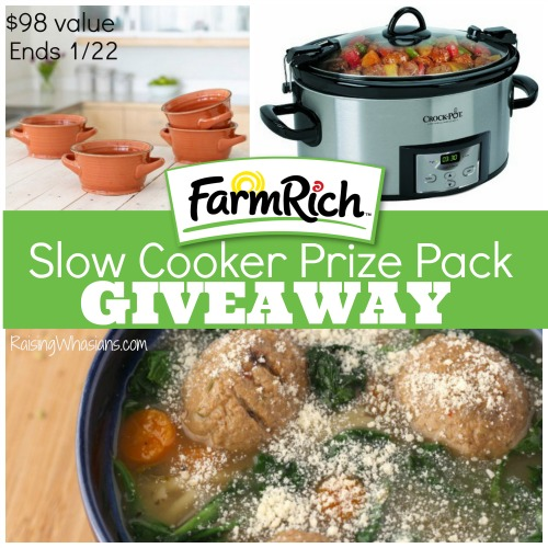 Farm rich giveaway slow cooker