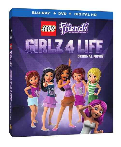 Free Lego Friends Girlz 4 Life Activities Blu Ray Raising Whasians