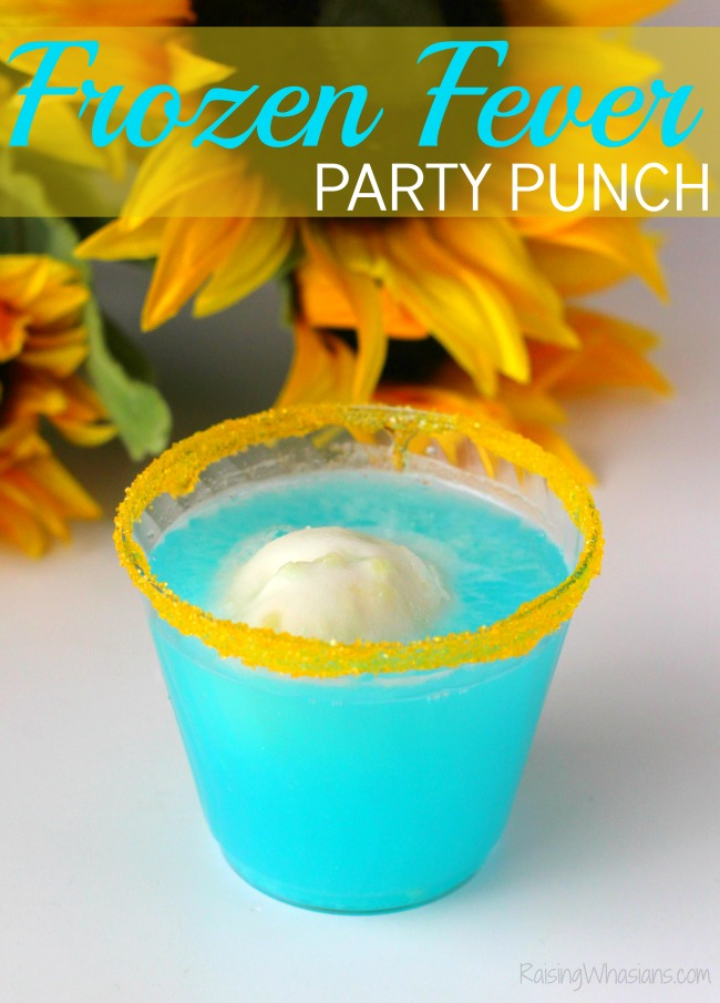 Frozen fever party punch