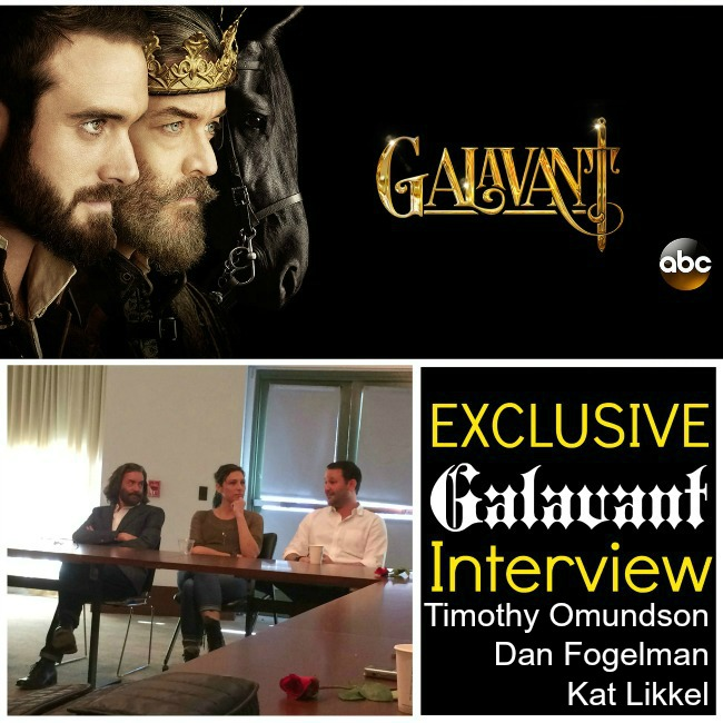 Galavant interview Timothy Omundson