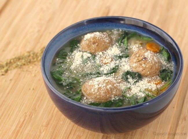 Gluten-Free Slow Cooker Italian Wedding Soup Recipe - Raising Whasians