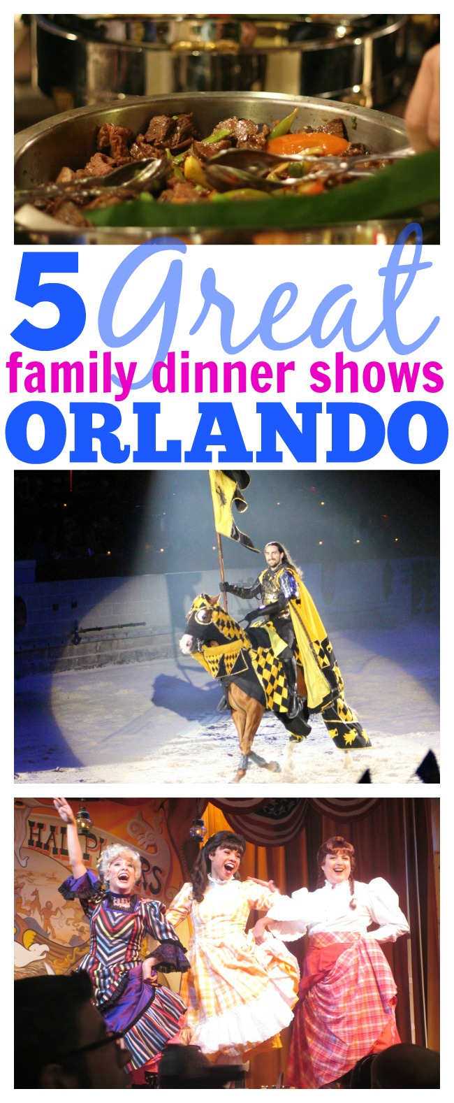 Great family dinner shows in Orlando