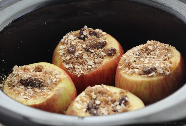 How to make baked apples in crockpot