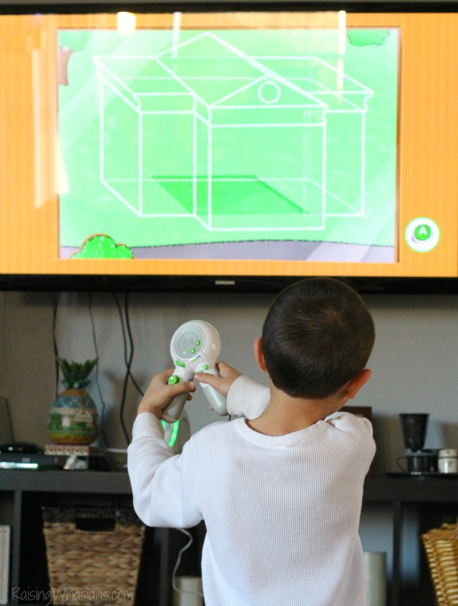 LeapFrog LeapTV in action