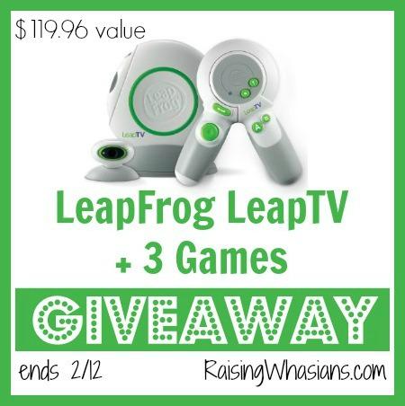 Leapfrog Leaptv giveaway