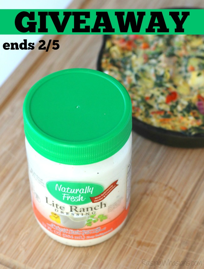 Naturally fresh lite ranch dressing recipe
