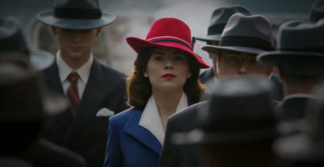 Peggy carter red hat history