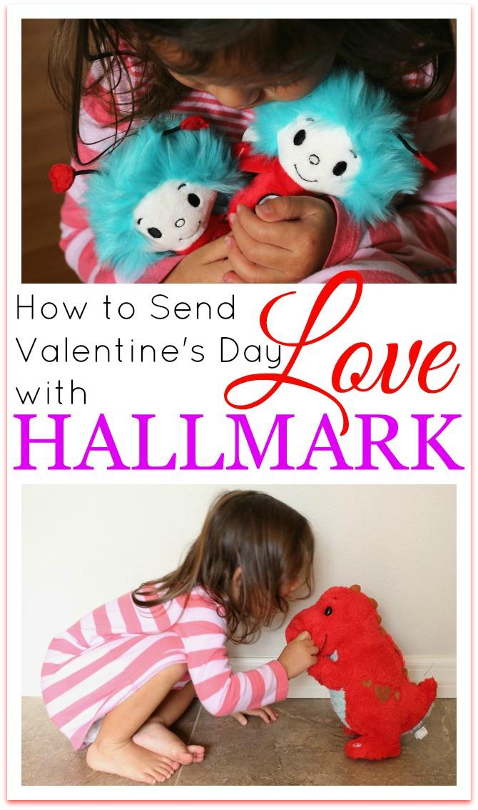 Send Valentines day love with Hallmark