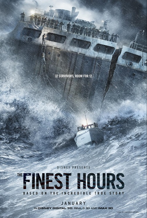 Finest hours movie 2016