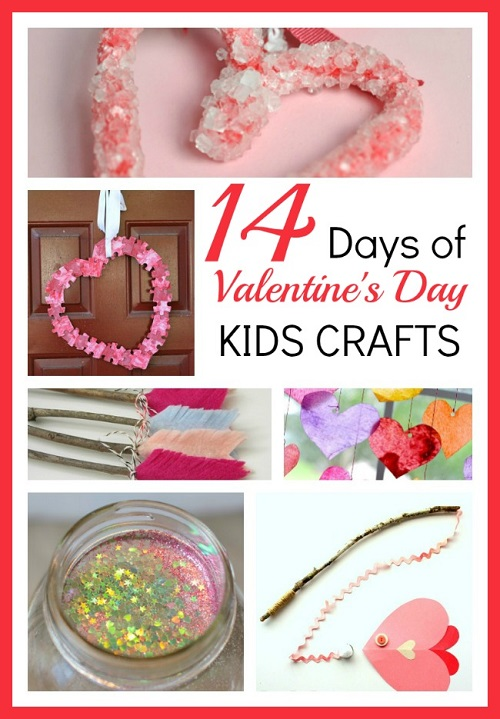Valentine's day kids crafts