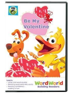 WordWorld Valentines Day Dvd