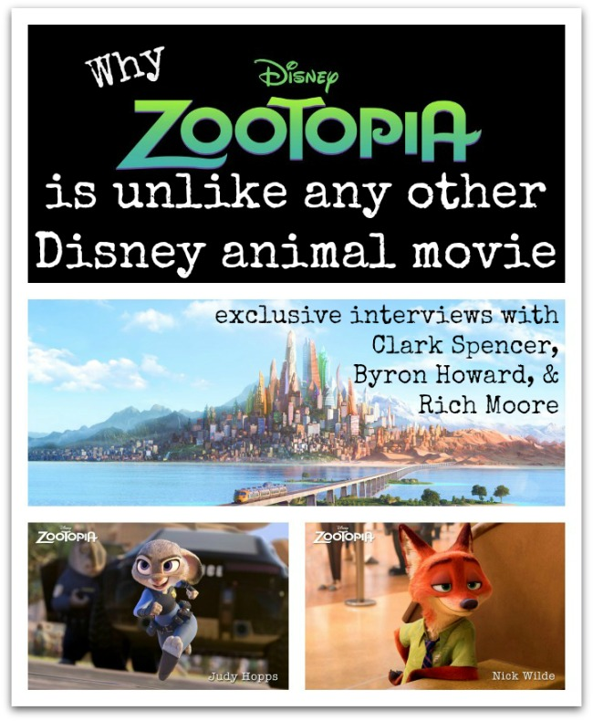 Exclusive Interviews Pictures More: Why Zootopia Is Unlike Any Other Disney Animal Movie