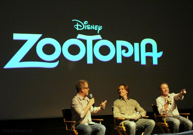 Zootopia preview interview