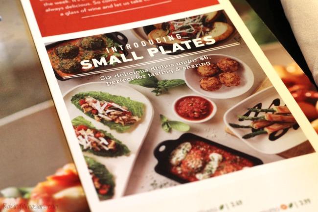 photo regarding Carrabba's Printable Menu named Carrabbas Contemporary Menu Sharing Plates, Planning Recollections