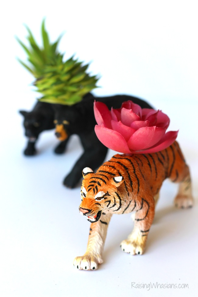 DIY jungle book inspired craft