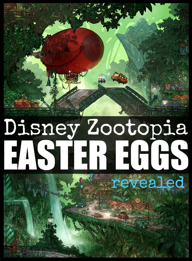 Disney Zootopia easter eggs revealed
