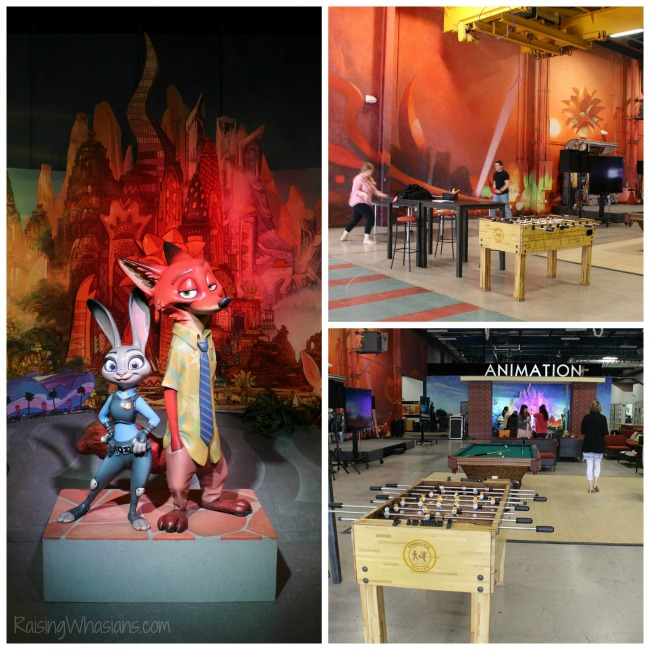 Disney animation renovation Zootopia