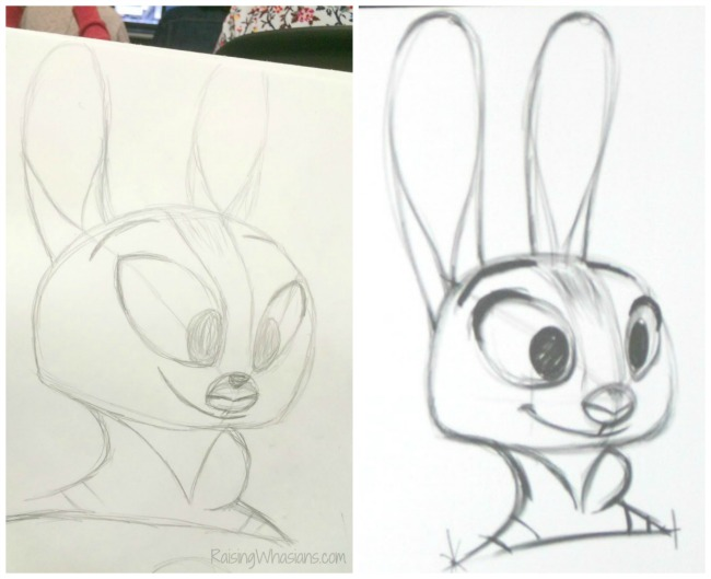 Drawing zootopia