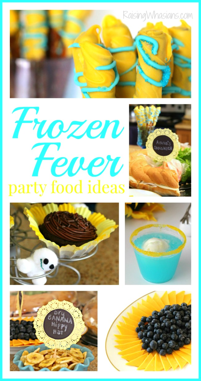 Frozen fever party ideas food