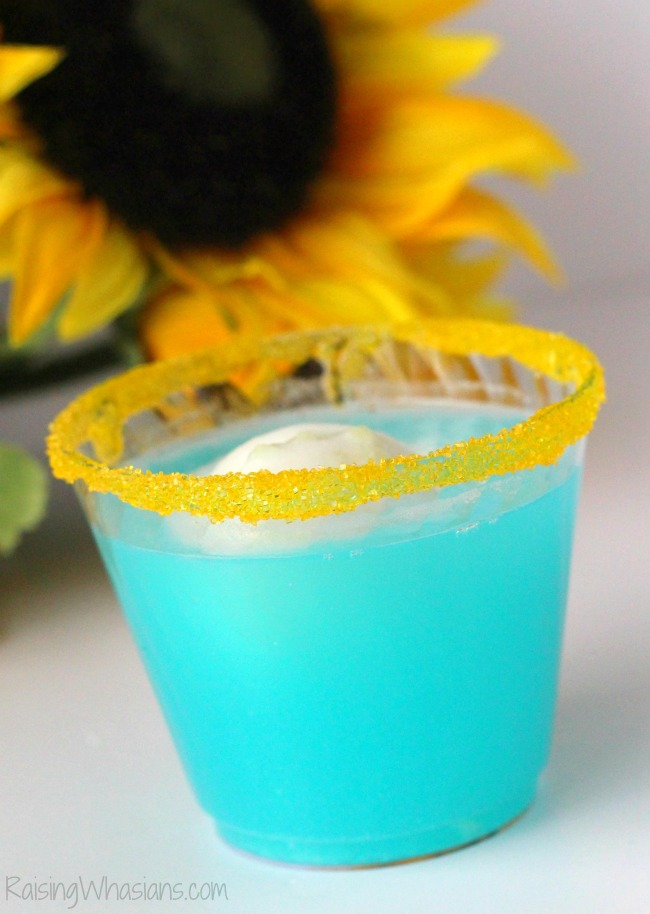 Frozen fever punch party idea