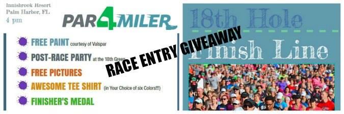Par4miler race giveaway