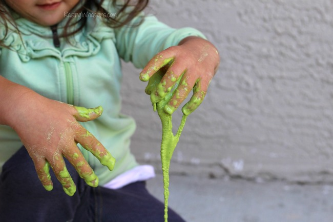 St. Patrick's day slime allergy friendly