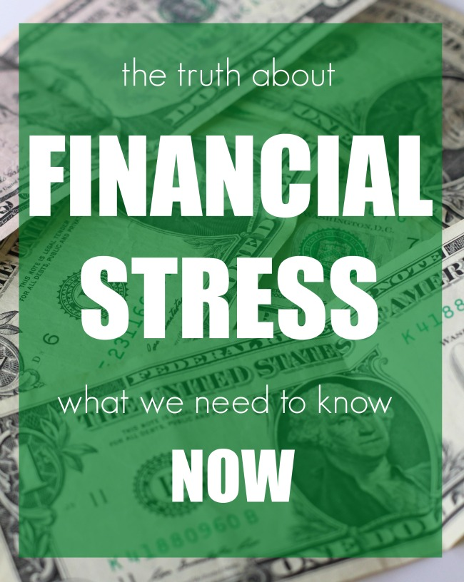 Truth abolut financial stress