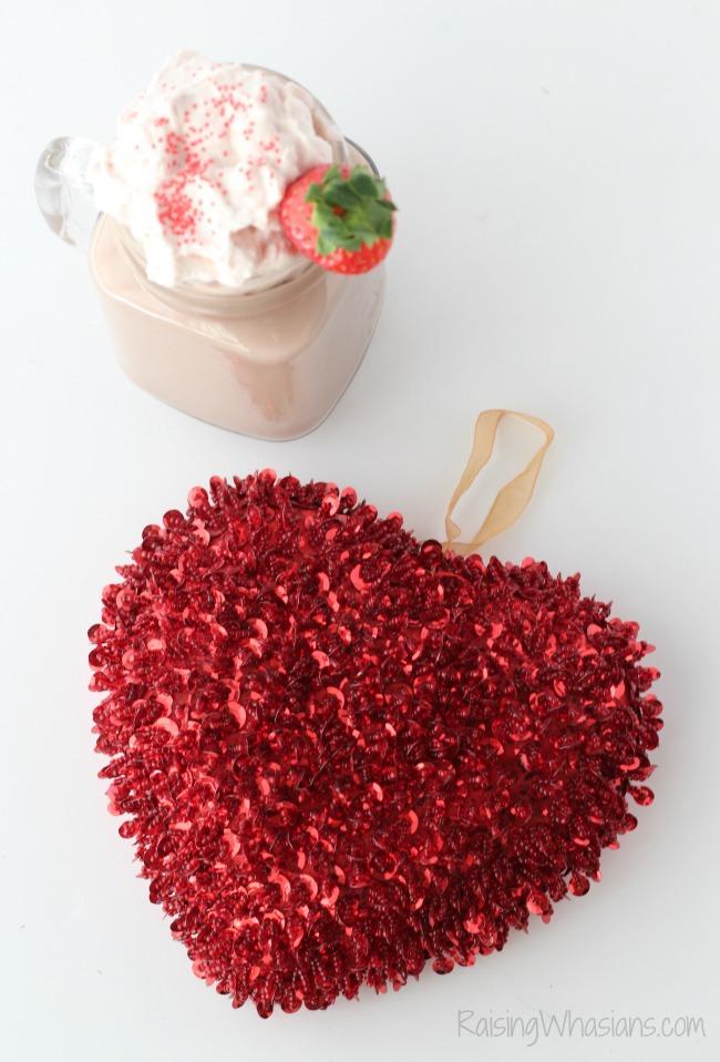 Valentines day hot chocolate