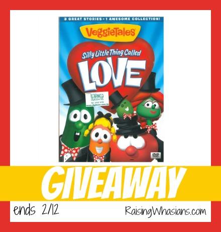 VeggieTales Valentines day giveaway