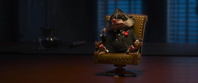 Zootopia godfather scene