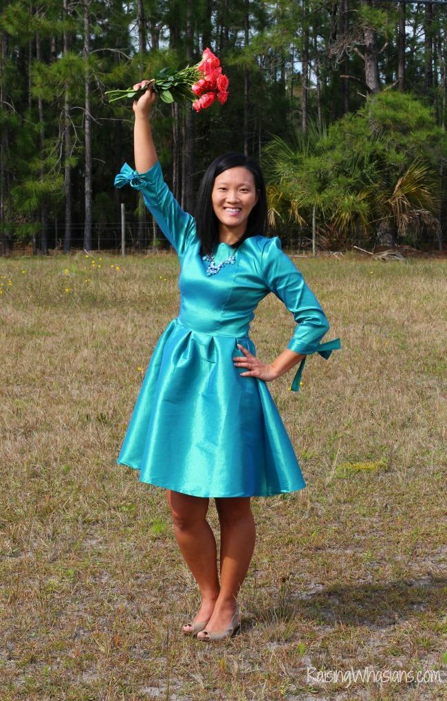 Affordable spring dress for women