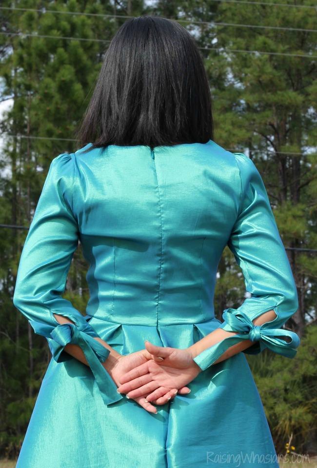 Bow dress for women