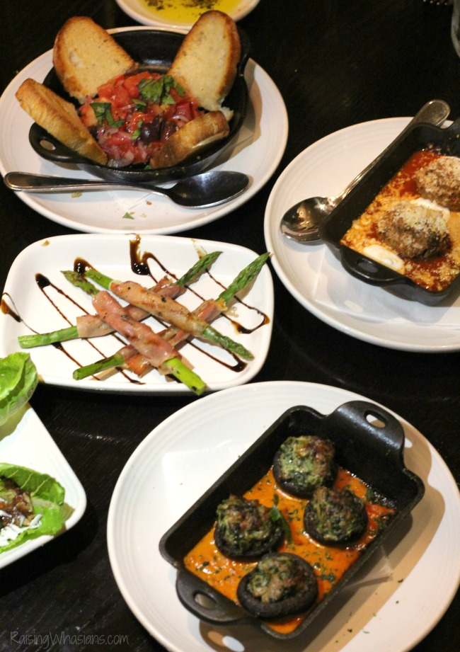 Carrabbas appetizers small plates