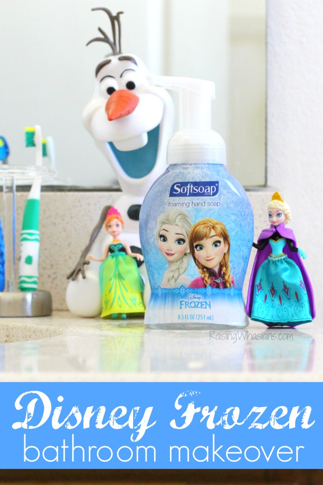 Disney Frozen Bathroom Makeover With Softsoap