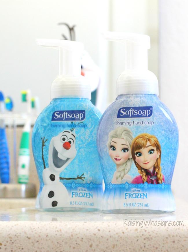 Disney frozden soap for kids