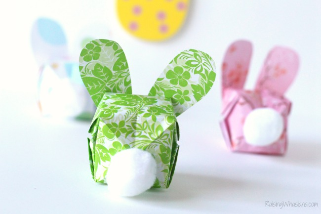 Easter craft for kids bunny butt